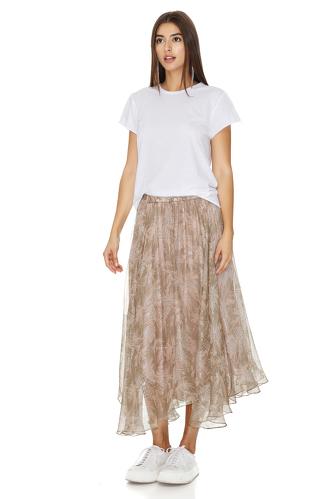 White Basic CottonT-shirt - PNK Casual