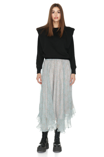 Black Bumper With Oversized Shoulders - PNK Casual
