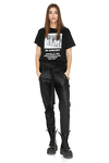 Oversize Printed Hand-Distressed T-Shirt