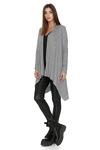 Fine Knit Asymmetrical Grey Sweater