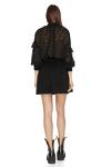 Black Mini Dress With Elasticated Waistband