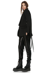 Black Punto Cutout Blazer