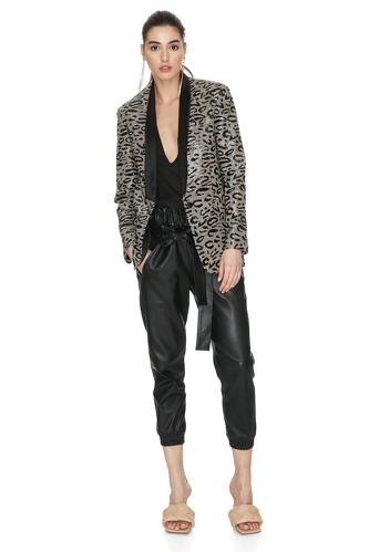 Leopard Sequin Blazer - PNK Casual