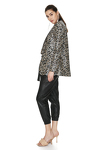 Leopard Sequin Blazer