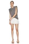Off-White Cotton Shorts