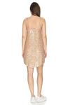 Gold Sequin Mini Dress