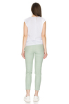 Light-Green Casual Cotton Pants