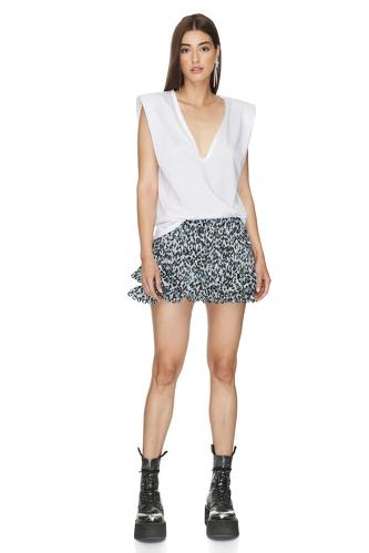 Cotton Animal Print Shorts - PNK Casual