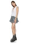 Cotton Animal Print Shorts