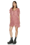 Relaxed Fit Silk Mini Dress