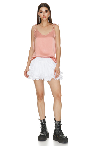 Viscose top with Adjustable Straps - PNK Casual