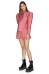 Dusty Pink Boho Shorts With Elasticated Waistband