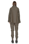 Army-Green Oversize Shirt