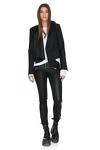 Rock Leather Black Pants