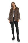 Leopard-print Cotton Jacket
