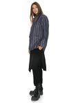 Blue Striped Fringed Jacket