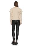 Skinny Leather Black Pants