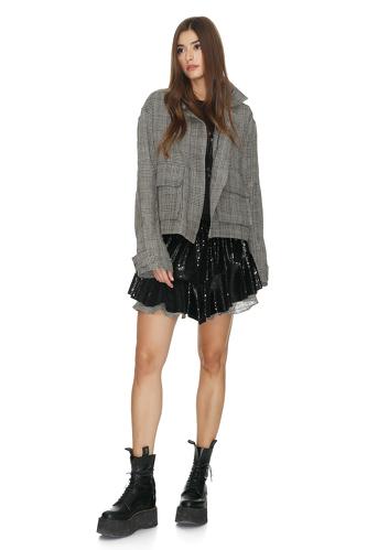 Black Sequin Shorts - PNK Casual