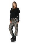 Leopard sequin pants