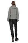 Checkered Printed Jacket