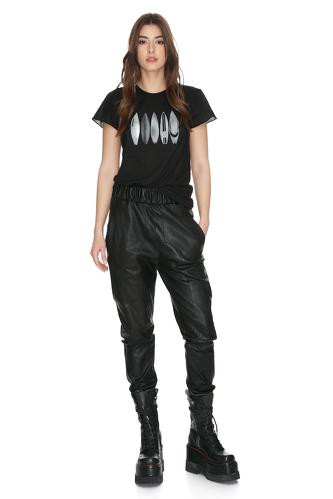 Black Surfboard Printed T-Shirt - PNK Casual