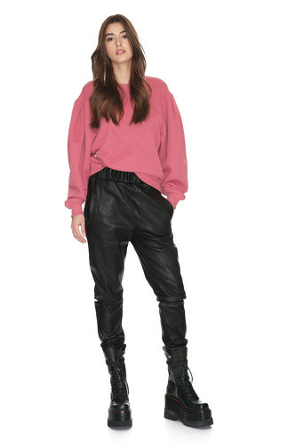 Oversized Dusty Pink Blouse - PNK Casual
