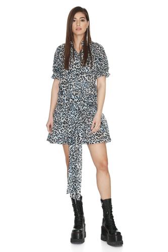 Animal Print Mini Dress - PNK Casual