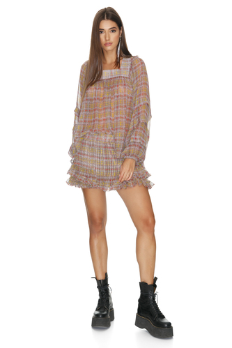 Printed Brown Shorts - PNK Casual