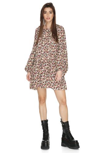 Floral Print Mini Dress - PNK Casual