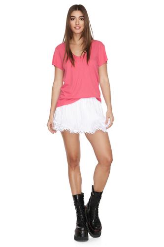 Pink Cotton T-shirt - PNK Casual