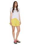 Yellow Boho Shorts With Elasticated Waistband