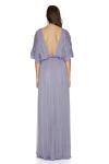 Lavender Silk Tulle Maxi Dress