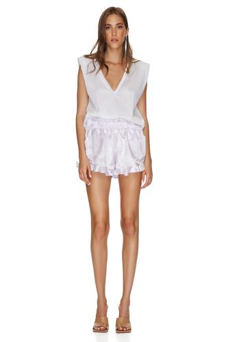 Lavender Boho Shorts - PNK Casual