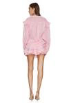 Linen Pink Shorts