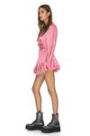 Pink Viscose Shorts