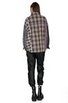 Checkered Cotton Oversized Shirt